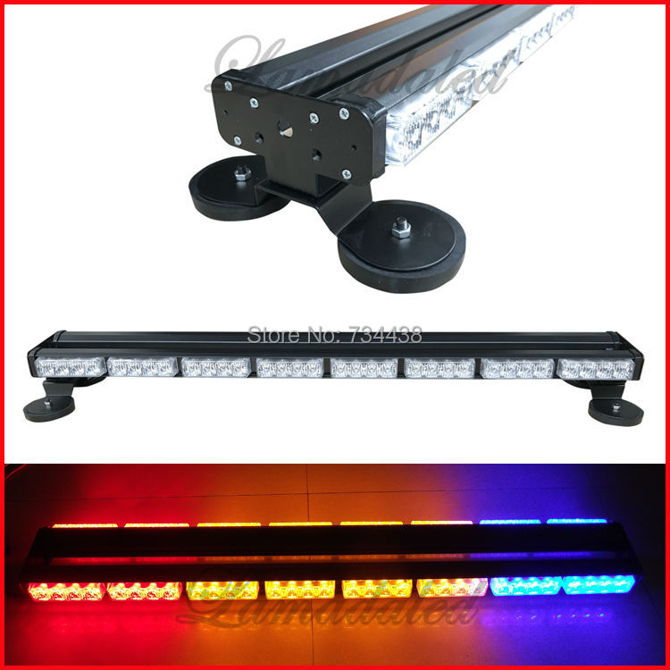86cm car roof led Strobe Lights vehicle Warning lamp with 2 side led police strobe light high power 64led light bar with magnet new 15 6 wxga glossy led lcd screen for acer aspire 5750 6414