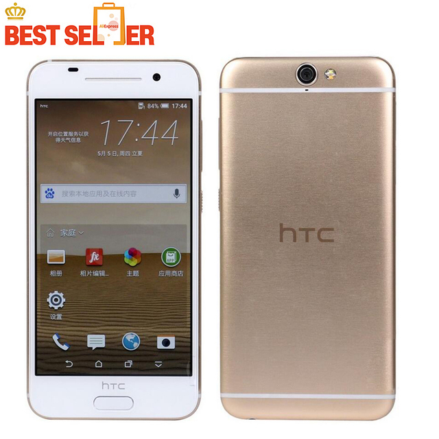 HTC One A9 GSM 4G LTE Mobile Phone Android Phone 32GB ROM Fingerprint 5.0inch TouchSreen WIFI GPS 13MP Camera HTC A9 Smartphones