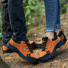 Couples Hiking Shoes Autumn Winter Mens Trekking Sh