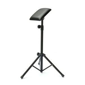 Image 2 - 新 2016 鉄タトゥーアームレッグレストは完全に調整可能な椅子タトゥースタジオ作業供給ベッドスツール 65 125 センチメートル