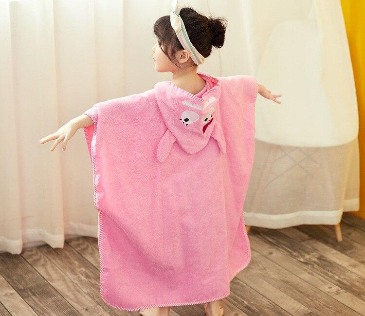 3 вида конструкций, Желтый Детский банный халат с капюшоном и изображением монстра и слона, щенка