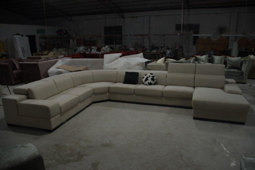 Eleganten in racionalen resničen usnjen kavč Dnevna soba kavč v - Pohištvo - Fotografija 2