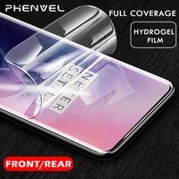 0,1mm película protectora para oneplus 6 7 pro Gel protector de pantalla para oneplus 7 pro 6t 5t película de hidrogel trasera 3D