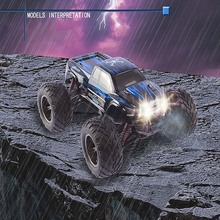 Amazing Super RC Car 9115 2.4G 1:12 1/12 Scale 40KM+ Remote Control Car RTR Brushed RC Monster Truck Off-road Car RTR 2.4GHz