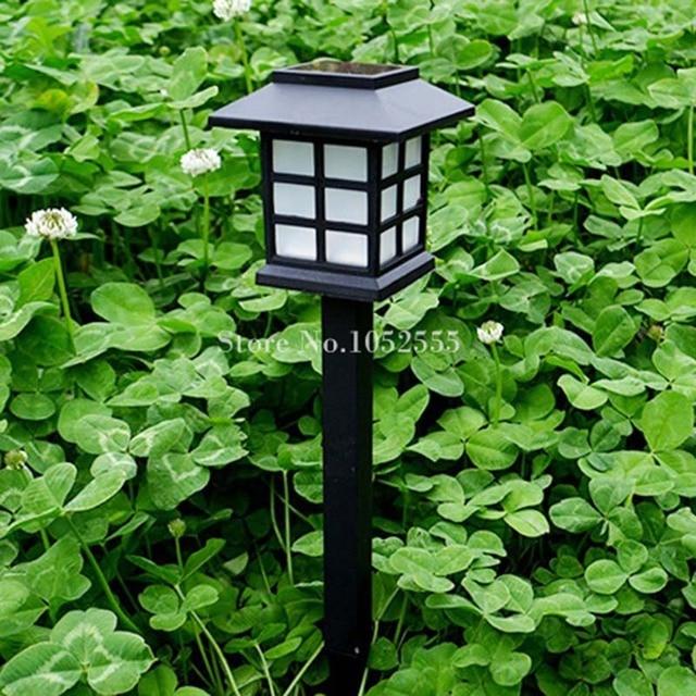 Lumiere Solaire Jardin haute qualité 2 pcs extérieure solaire led sol lampe solaire jardin