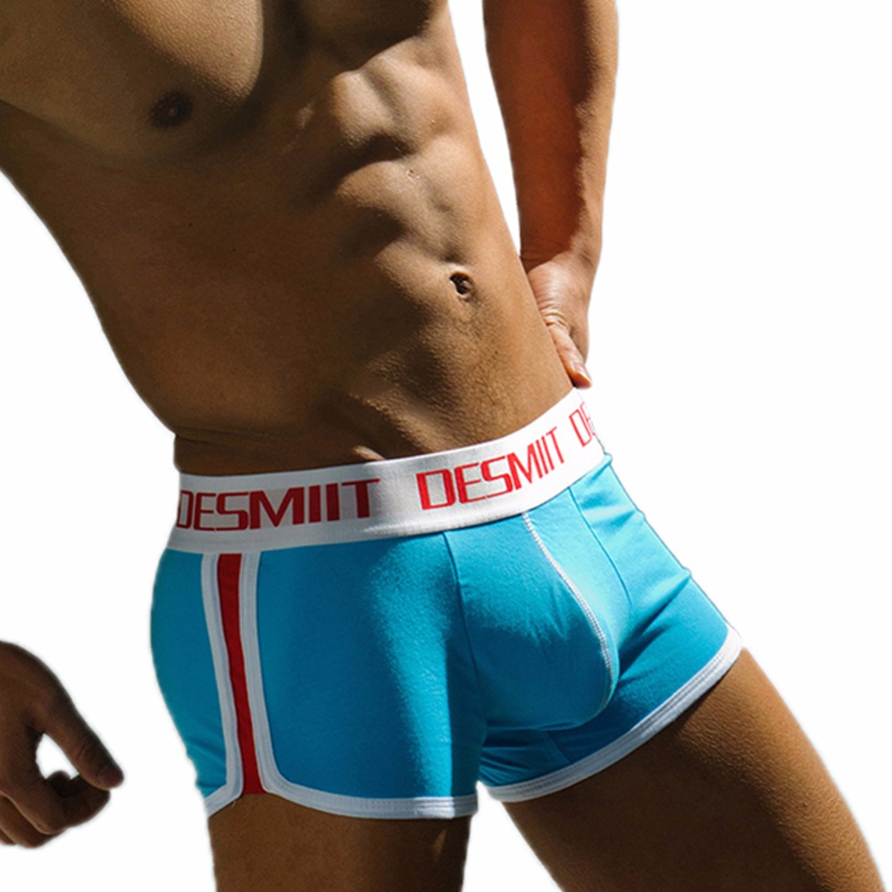New Male Soft Men Underwear Cotton Boxer Shorts Trunks Modal Underpants ...
