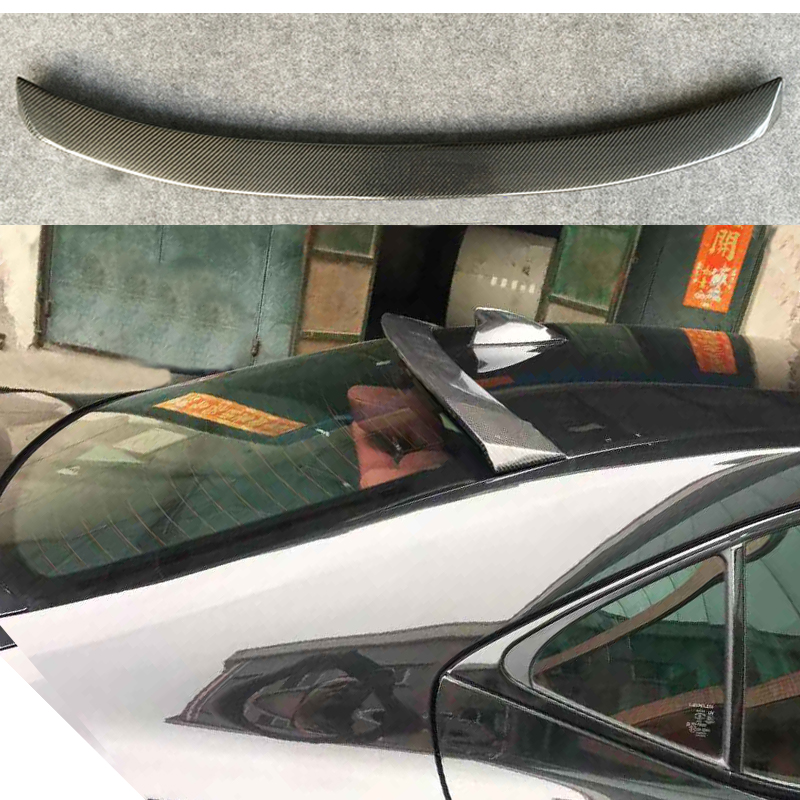 Carbon Fiber Rear Roof Spoiler Fit For Lexus IS IS250 IS300 IS350 2013 2014 2015 2016 2017