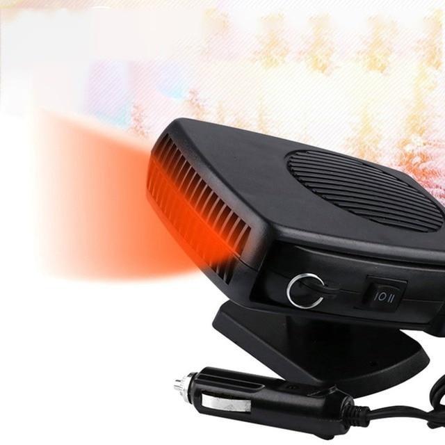 Practical Auto Car Electric Heater Heating Fan Window Screen Demister Defroster Gl Defogging Defrost