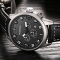Fashion Quartz Military Sport Watch Men Luxury Brand Casual Watches Men's Wristwatch Army Clock Leather relogio masculino Hours