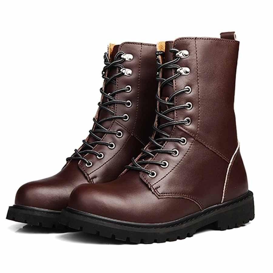 Aliexpress.com : Buy Hot Sale Winter Warm Plush Men Boots Fashion ...