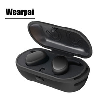 WearPai Wireless Bluetooth Earbuds Smallest Cordless Earphones and Storage Box with Charger Function for sport/portable/phone