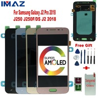 IMAZ Orignal 5 Super Amoled LCD For SAMSUNG Galaxy J2 Pro 2018 J250 J250F J250G Lcd Display Touch Screen Digitizer Assembly