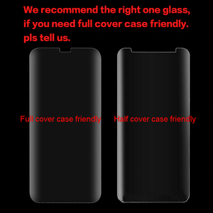 Image 5 - 2 adet ekran koruyucu Samsung S9Plus S10 artı Note20 ultra temperli cam sıvı tam tutkal UV mate 20 30 pro P30 Pro P40 Pro