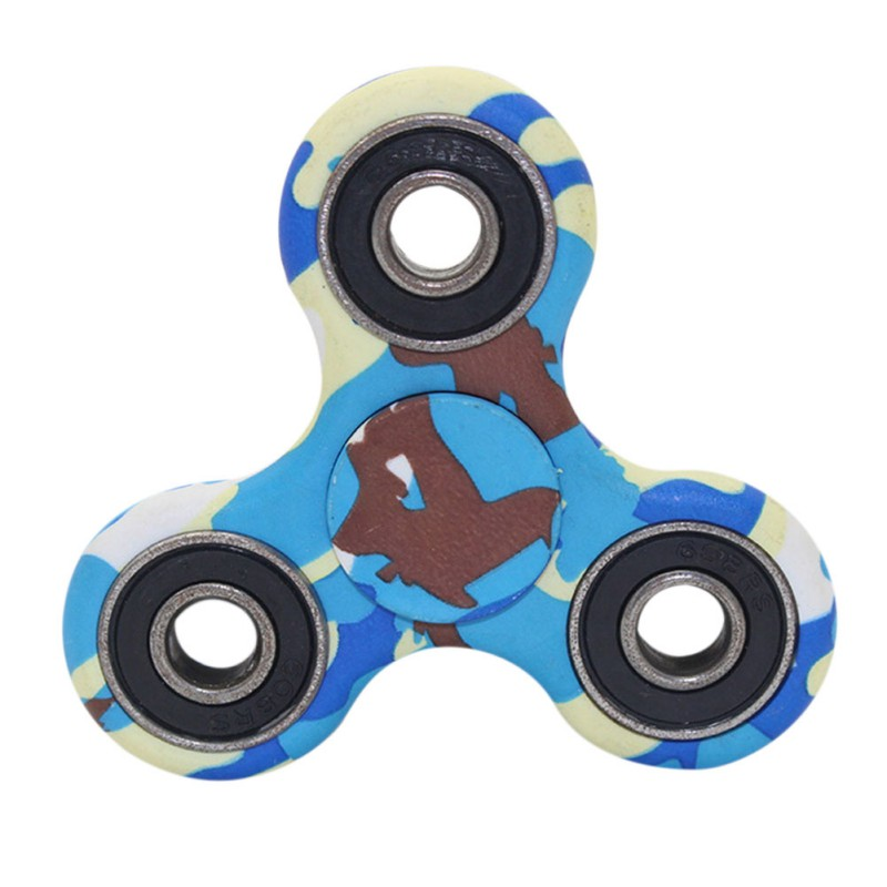 EDC Round Three Corner Camouflage Hand Spinner For Autism and ADHD Anxiety Stress EDC Focus Hand Spinner ADHD Austim Learning new style edc round three corner camouflage hand spinner for autism and adhd anxiety stress relief focus toys