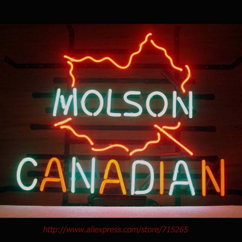 Molson Canadian Neon Sign Neon Bulbs Real Glass Tube Handcrafted Neon Signs  For Home Decorate Beer. Compare Prices on Molson Canadian Neon Beer Signs  Online Shopping