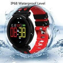 Smartwatch com All Dia da Frequência Cardíaca Atividade de Monitoramento de oxigênio no sangue e pressão Arterial, Monitoramento do Sono, ultra Longa Vida Útil Da Bateria