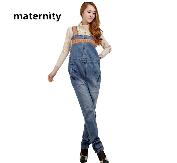 542ef166518d 2014 New Surrogacy Dungarees Overalls Breast Feeding Maternity Jumpsuits  for pregnant Women Indigo Maternity Denim Jeans 81113 on Aliexpress.com