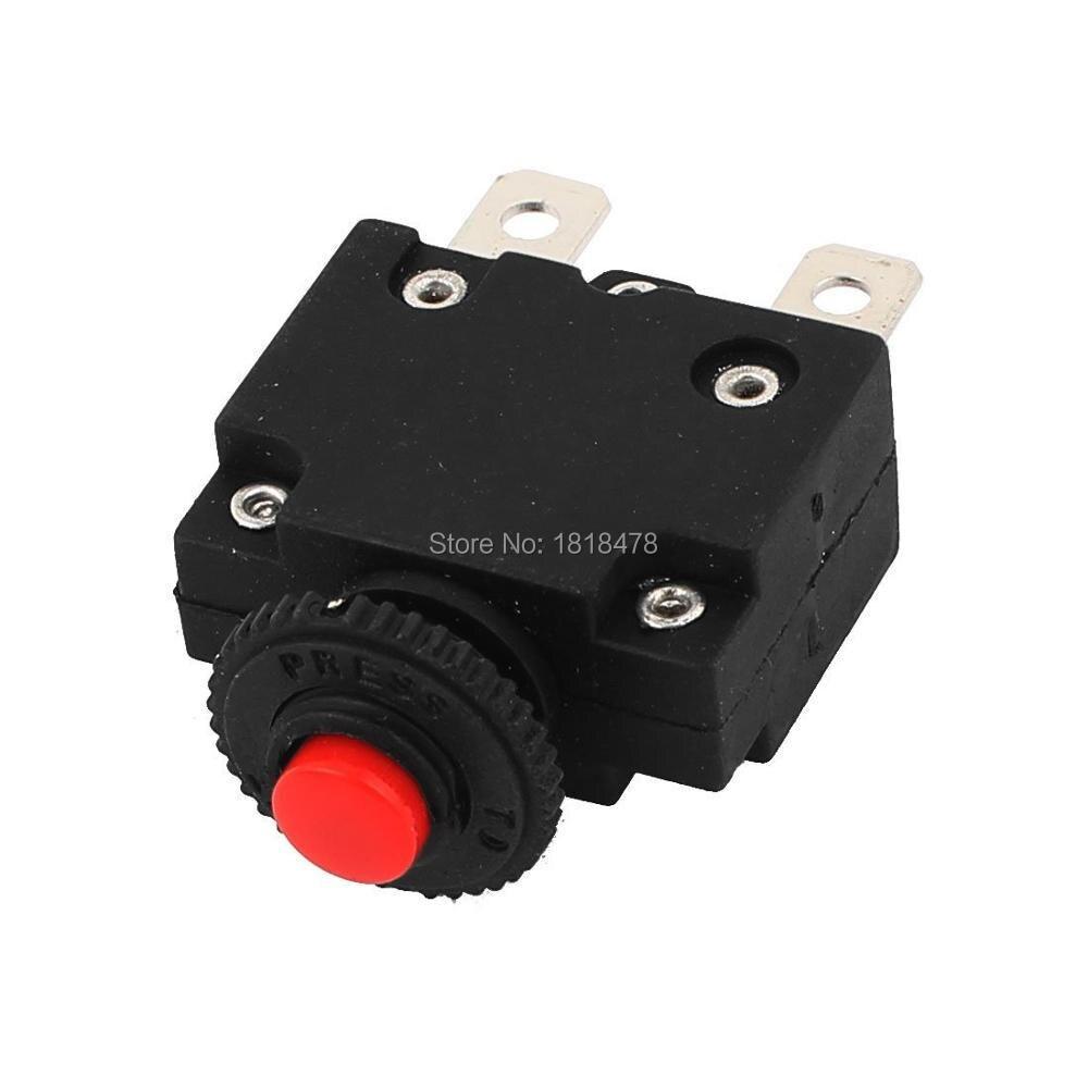 10 ADET HS R01 15A 10A 5A 20A AC125/250 V 15A devre kesici termal aşırı yükleme koruyucusu
