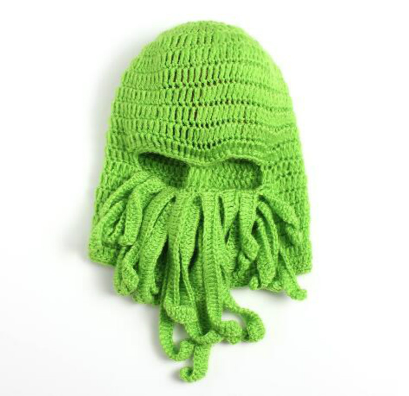 86d14738e Tentacle Octopus Cthulhu Knit Beanie Hat Cap Wind Ski Mask 2016 ...