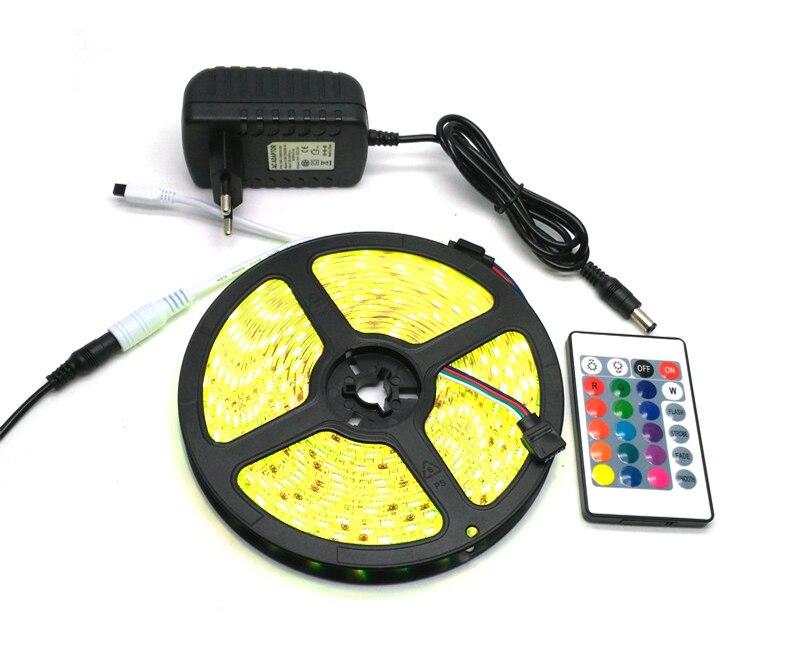 IP65 Suya davamlı 5050 RGB 5M LED Zolaq - LED işıqlandırma - Fotoqrafiya 5