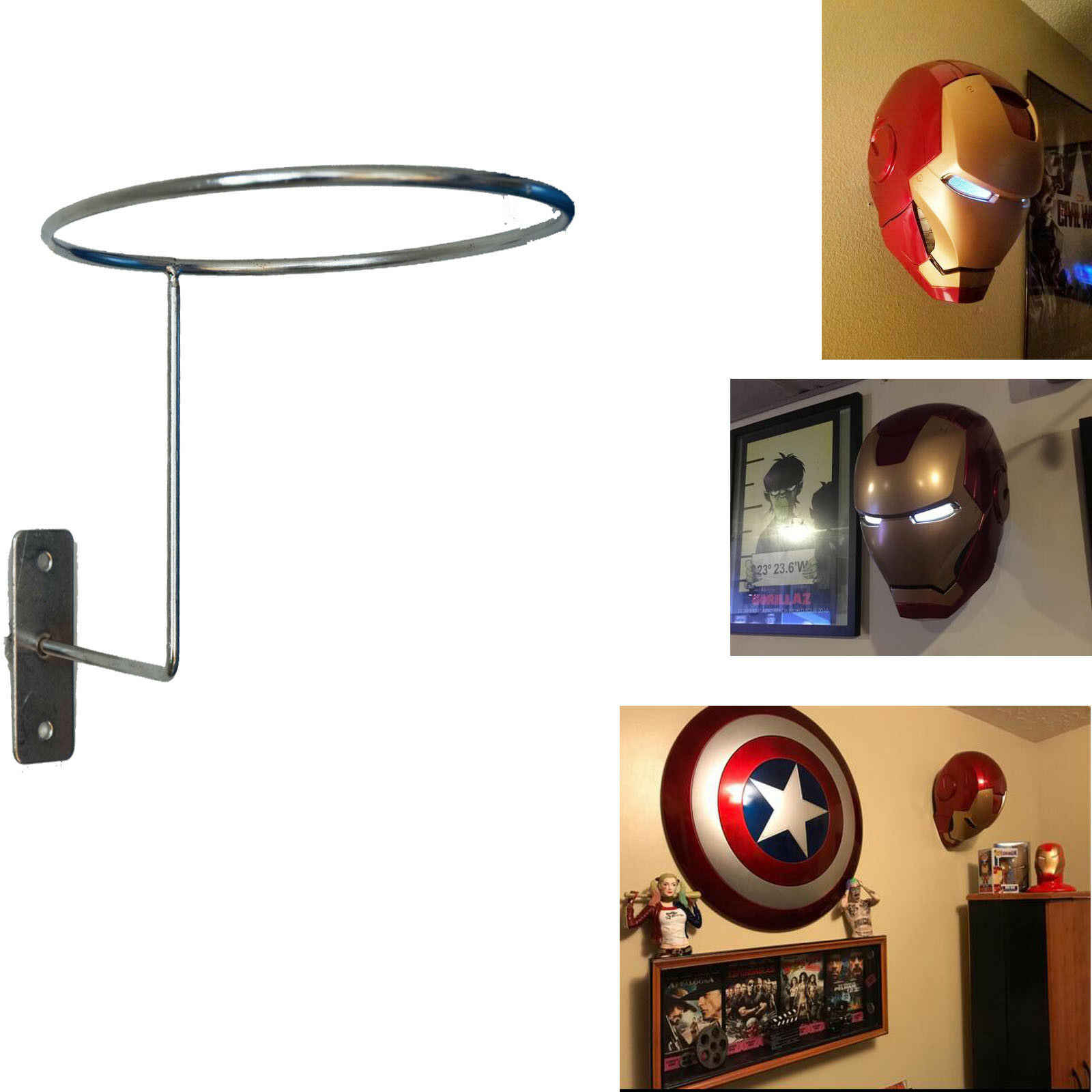Helmet Display Stand Rack Hanger Holder For Iron Man Scout Trooper Collection Tool Parts Aliexpress