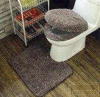 Fyjafon 3 pz Super soft ispessimento wc set vasino toilet seat cover Caldo Vicino Sgabello Cuscino Stuoia