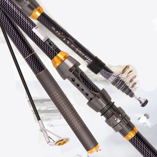 High Quality Carbon Fiber Distance Throwing Rod Telescopic Fishing Rod Super Hard Fishing Pole 2.1/2.4/2.7/3.0/3.6m Fishing Tack