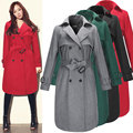 Autumn Winter women's trench outerwear women's jacket maternity jacket trench Pregnant clothing coat European Style dress 16875