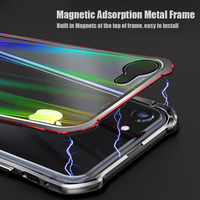 Luxury Laser Aurora Case For iPhone 8 iPhone7 Case Shockproof Transparent Glass Hard Cover For Apple iPhone 7 8 Plus X 10 Cover
