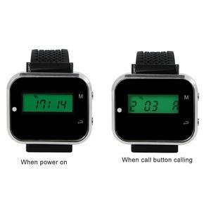 Image 4 - Retekess bezprzewodowy System przywoływania kelnera wyposażenie restauracji zegarek odbiornik biuro Cafe Call Pager F3300A
