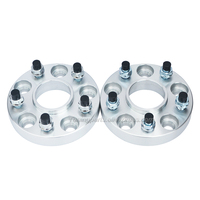(2 pieces/lot) 25mm 5x108 63.4 14x1.5 Forged Alloy Car Wheel Hub Spacers For S-MAX