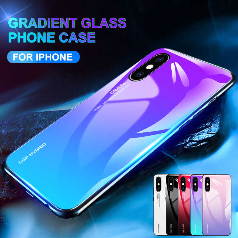 sports shoes cbc9b e34b3 Detail Feedback Questions about Gradient case for iPhone X XS Max XR ...