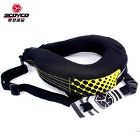 2018 New SCOYCO Cavalier neck protector Racing motorcycle cross country protection neck Neckguard Long distance riding equipment