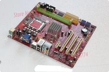 g31 motherboard p6ngm 7100 graphics card 775 needle second generation integrated motherboard