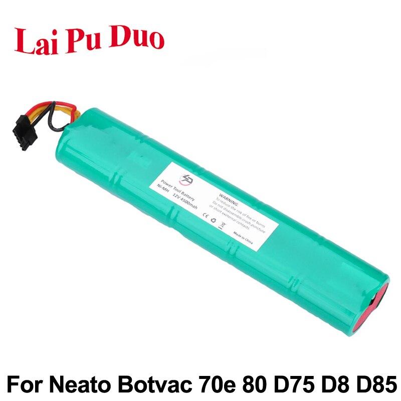 12 v 4500 mah Ni-MH bateria Recarregável Para Neato Aspirador Botvac 70e 75 D75 80 85 D85