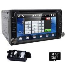 Car dvd player In Dash Stereo MP3 Head Unit CD Camera parking GPS navigator 2 din