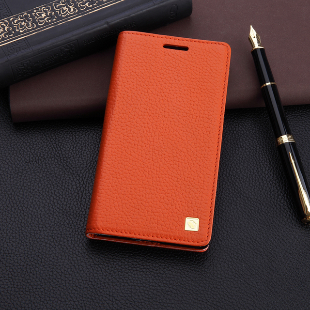 best website 77afe d536e US $18.0 |4 color Original Famous brand for Nokia Lumia 930 Real Genuine  leather case phone cover for Nokia Lumia 930 card holder + stand on ...