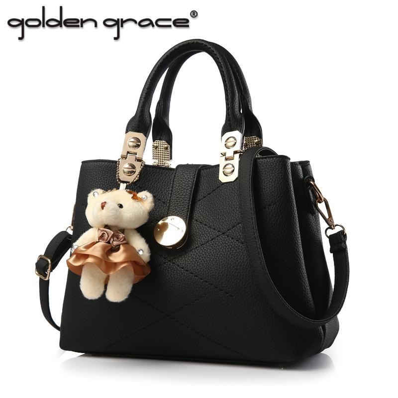 Women Handbag 2017 Fashion Large Capacity Brief Casual One Shoulder Cross-Body Bag <font><b>Big</b></font> Women&#8217;S Bags
