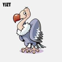 Yjzt 11 cm * 15.6 cm grandes aves de rapina abutre aves pvc motocicleta carro adesivo 11-01240