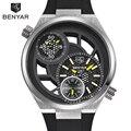 2017 Nueva BENYAR Hombres Reloj de Cuarzo de Moda de Lujo Deportes Ejército Militar Relojes de Buceo 30 M Marca de Relojes de Pulsera Relogio masculino