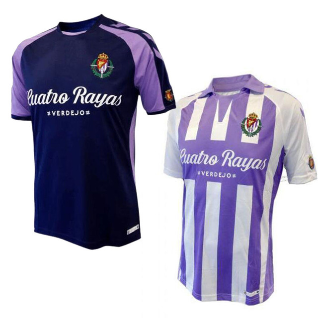 new arrival 17cbb da2dc US $15.0  18/19 Real Valladolid T shirt Casual shirts 2018 2019 Real  Valladolid shirts Leisure Best Quality S 2XL-in Soccer Jerseys from Sports  & ...