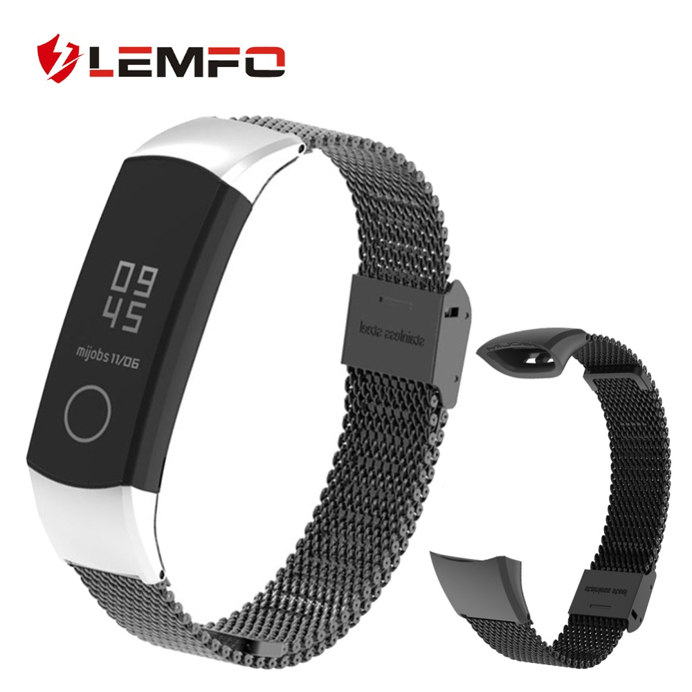 LEMFO Replacement Honor-Band Fitness Bracelet Huawei 4-Strap for Fashion