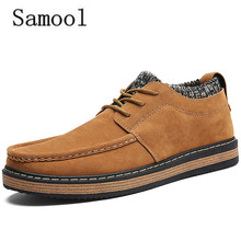 2017 Spring Winter Autumn Man SuperStar Shoes Durability Dress Shoes Business Office Shoes Winter Brown Male Footwear
