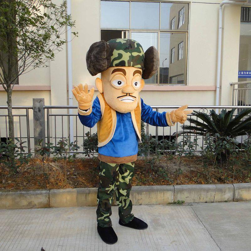 Boonie Bears mascotte Costume Cosplay partie jeu robe tenues vêtements publicité carnaval Halloween noël fête Costume - 5
