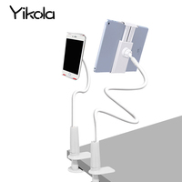 For Ipad Mini 1 2 3 4 Flexible Tablet Holder Rock 360 Degree Arm Table Pad