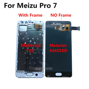 Image 3 - For Meizu Pro 7 LCD Display with Touch Screen Digitizer Replacement For Meizu Pro 7 Pro7 LCD With Frame M792M M792H