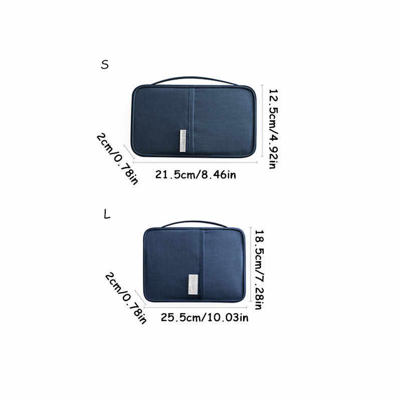 Reizen Waterdichte Passport Wallet Holder Credit Card Pakket ID Document Multi-Card Storage Pack Clutch Reizen Accessoires