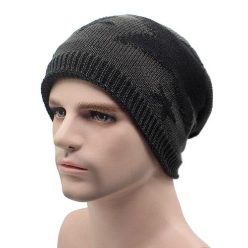 ea6934ec1 US $5.92 42% OFF|AETRUE Knitted Hat Winter Beanies Men Caps Gorras Bonnet  Plain Warm Baggy Blank Winter Hats For Men Women Skullies Beanies Hats -in  ...
