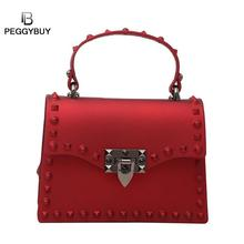 2019 New Women Messenger Bags Luxury Handbags Women Bags Designer Jelly Bag Purses Leather Shoulder Bag Bolsa Feminina 2019 New