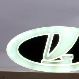 Image 4 - Car Styling 4D Cold Light LED Emblem Logo Light for Lada Granta Vesta Xray Largus VU 4X4 Niva Kalina Priora Car Accessories